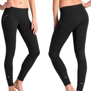 Athleta Relay Tight Pilayo Black Leggings - Sz S